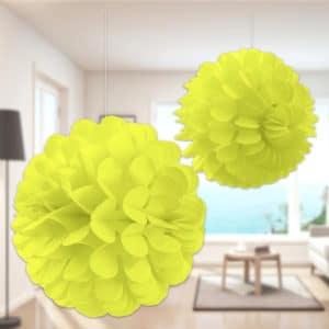 Petek Süs Seti Sarı Renk 2li