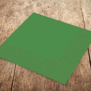 Yeşil Renk Kağıt Peçete 33 x 33cm 20li