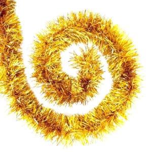 Altın Renk Kalın Boyun Simi 5 cm 2 mt