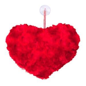 Kalp Yastık Peluş Hediyelik Asma Süs