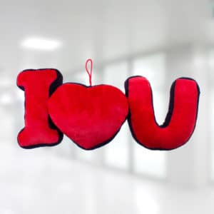 I Love You Yastık Asma Süs