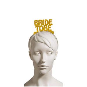 Bride To Be Altın Simli Eva Parti Taç 1 Adet