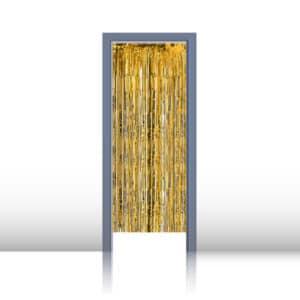 Kapı Perdesi Hologramlı Altın 1m x 2m 1 Adet