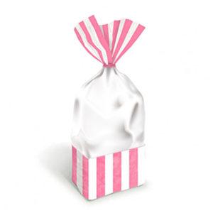 Bebek Pembesi Çizgili Şeker Poşeti 10lu
