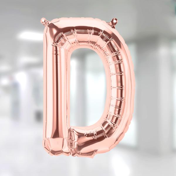D Harf Rose Gold Folyo Balon 90cm (40 inch)