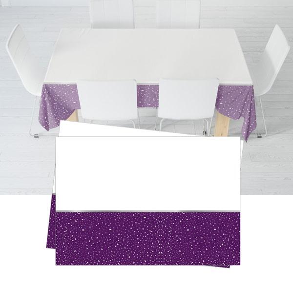 Parti Zamanı Temalı Plastik Masa Örtüsü 120x180cm 1 Adet