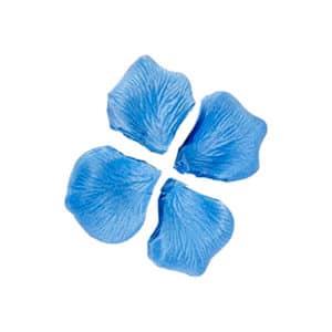 Mavi Renk Dökme Gül Yaprağı 144lü