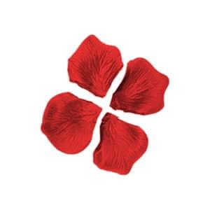 Kırmızı Renk Dökme Gül Yaprağı 144 lü