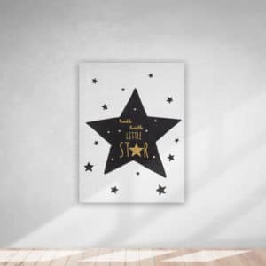 Kanvas Tablo Little Star 30x40cm 1 Adet