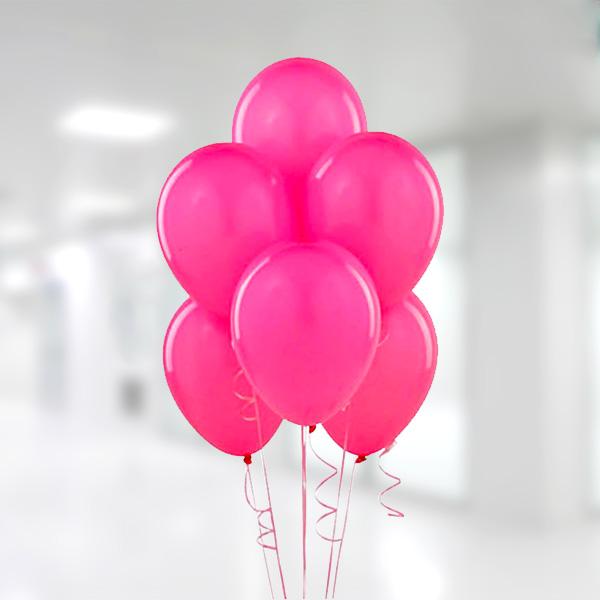 Fuşya Lateks Balon 30cm (12 inch) 10li
