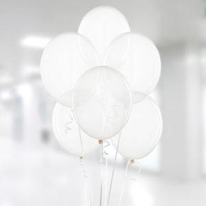 Şeffaf Lateks Balon 30cm (12 inch) 10lu