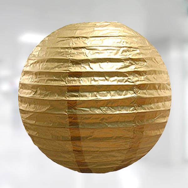 Kağıt Fener Altın 30cm 1 Adet