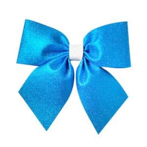 Mavi Fiyonk Dekor Süs 25 x 25cm 1 Adet