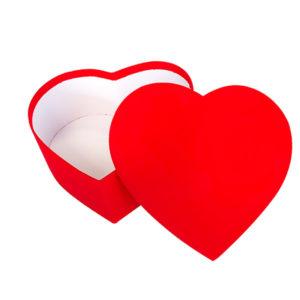 Kalp Şekilli Hediye Kutusu 23x21x9cm