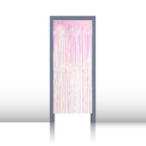 Kapı Perdesi Sedefli Beyaz 1m x 2m 1 Adet