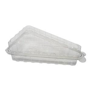 Plastik Üçgen Dilim Pasta Kabı