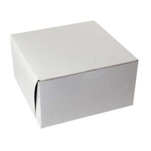 Büyük Pasta Kutusu, Beyaz Karton, 28x34x14,5cm 50 adet