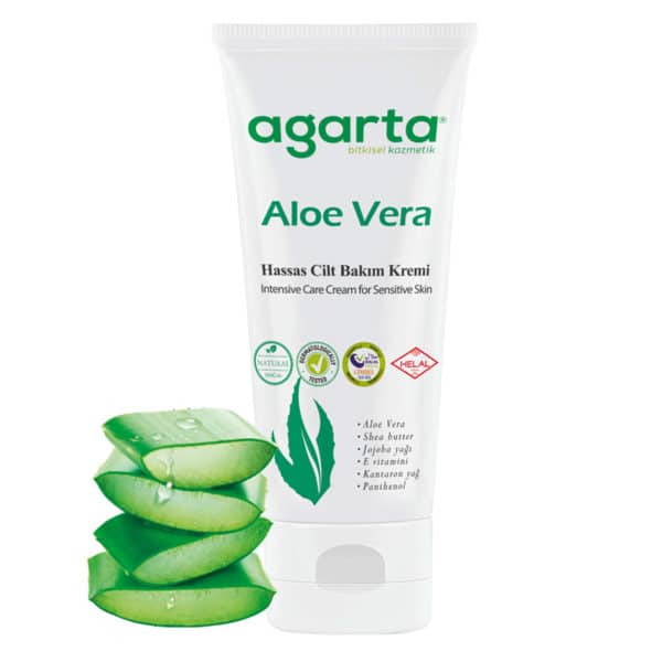 Doğal Aloe Vera Kremi 75 ml 1 Adet