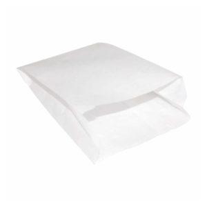 Kese Kağıdı Beyaz Sülfit Simit Boyu 15x20x7 cm 15 Kg'lık Paketlerde