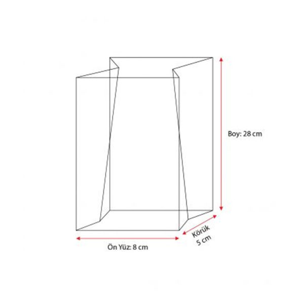 _0000_Kalın Gümüş Orta Şeffaf Poşet (500 Adetlik Kutu)