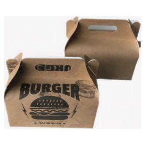 Hamburger Taşıma Kutusu 200 adet